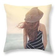 Shades Of Yesterday Throw Pillow