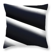 Shadow And Light Number 1 Throw Pillow