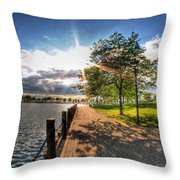 Shadow And Light V1 Throw Pillow
