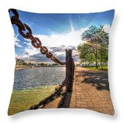 Shadow And Light V2 Throw Pillow