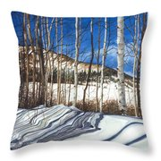 Shadow Dance 1 Throw Pillow