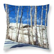 Shadow Dance 2 Throw Pillow