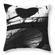 Shadow Heart Advanced Pencil Throw Pillow