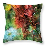 Shadow In The Blades  Throw Pillow