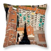 Shadow Of The Mole Throw Pillow