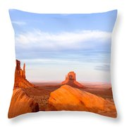 Shadow Of The Past Throw Pillow