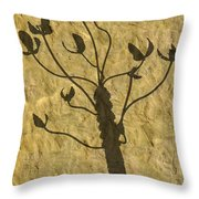 Shadow Of The Triffids Throw Pillow
