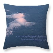 Shadow Of Your Wings Throw Pillow by Kume Bryant