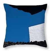 Shadow Shapes Iv Throw Pillow
