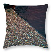 Shadow Shapes V Throw Pillow