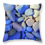 Shadow Stones Throw Pillow