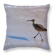 Shadow Walker Throw Pillow