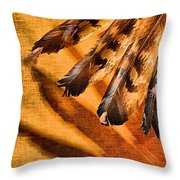 Shadowed Heritage Throw Pillow