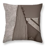 Shadows In Palladium Throw Pillow