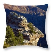 Shadows In The Canyon Throw Pillow