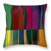 Shadows In The Material World Throw Pillow