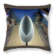 Shadows Of Shaping Throw Pillow