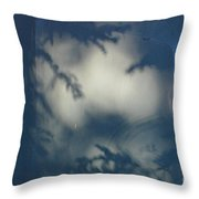Shadowy Figures In The Hood Throw Pillow