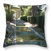 Shady Pavilion Throw Pillow