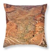 Shafer Trail Throw Pillow