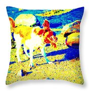 You Can Shake It Baby, So Shake Your Head And Laugh Out Loud  Throw Pillow