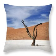 Shake Your Dreads Throw Pillow