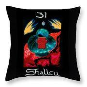 Shalicu  - Aeon / The Last Judgement Throw Pillow