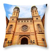Shalom Friends Throw Pillow