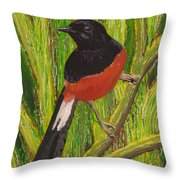 Shama Throw Pillow by Anna Skaradzinska