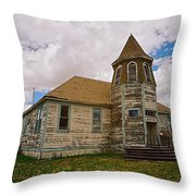 Shaniko Old Scool House Throw Pillow