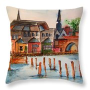 Shannon River Throw Pillow