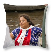 Shanty Town Cook Throw Pillow