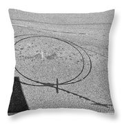 Shape And Shadow No.50 Gray Version Throw Pillow
