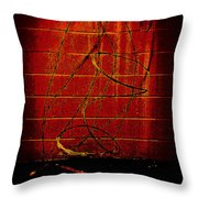 Shape And Texture No.101 Throw Pillow