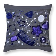 Shape From The Series The Elements And Principles Of Art Throw Pillow