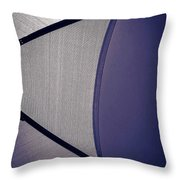 Shape No.3 Purple Version Throw Pillow