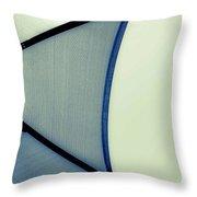 Shape No.3 Verdant Version Throw Pillow