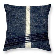 Shape No.35 Gray Scale Throw Pillow