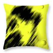 Shape Of The Shadow Throw Pillow