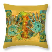 Shape Of Things Throw Pillow