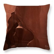 Shaped By Nature Throw Pillow