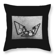 Shaped Openness 1 Throw Pillow