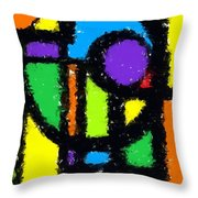 Shapes 11 Throw Pillow
