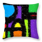 Shapes 12 Throw Pillow
