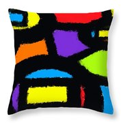 Shapes 13 Throw Pillow