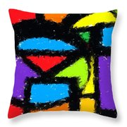 Shapes 15 Throw Pillow