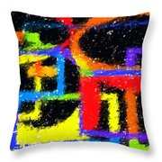 Shapes 3 Throw Pillow