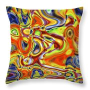 Shapes 9 Throw Pillow