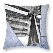 Shapes And Forms Throw Pillow