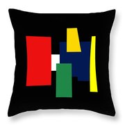 Shapes Colors Ill In 12x12 Throw Pillow